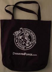 Dwarven Forge Tote Bag (Kickstarter Exclusive, Purple)