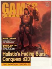 "#12 ""Fading Suns Conquers d20, Buffy the Vampire Slayer CCG"""