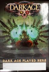 Dark Age Miniatures - Dark Age Player Here Poster