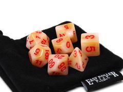 Dark Ivory w/Red (7)
