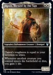 Daxos, Blessed by the Sun (Showcase) (U)