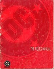 DC Heroes (2nd Edition) - Rules Manual