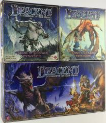 Descent 1st Edition Collection #1 - Base Game + 3 Expansions