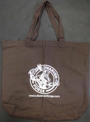 Dwarven Forge Tote Bag (Kickstarter Exclusive, Brown)