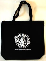 Dwarven Forge Tote Bag (Kickstarter Exclusive, Black)