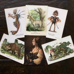 DiTerlizzi Postcard Set (6 Cards)