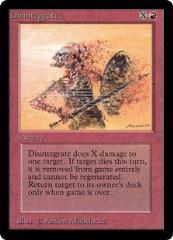 Disintegrate (C)