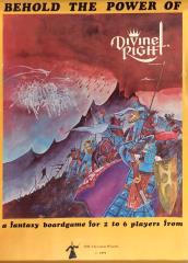 Divine Right Original Advertisement Poster