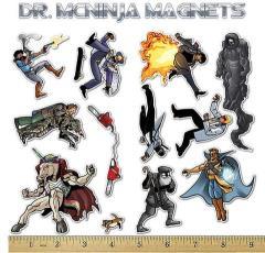 Dr. McNinja Magnet Set