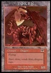 Dragon Token (Onslaught) (P)