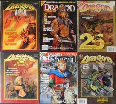 Dragon Annual - Complete Set!