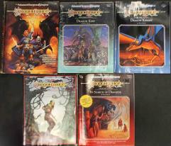 Dragonlance Module Collection #2 - 5 Adventures!