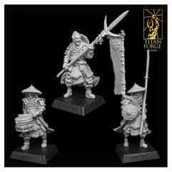Ashigaru Spearmen Command Group