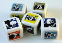 Yahtzee - Doctor Who 50th Anniversary Collector's Edition - Dice Only!