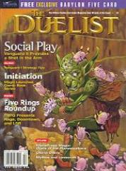 "#22 ""Mythos and Lovecraft, Vanguard I Strategy Tips, WoTC 1998 Product Catalog"""