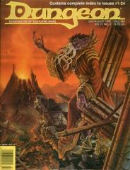 "#24 ""2 AD&D & 1 D&D Adventure, Index for Issues #1-24"""
