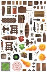 Dungeon Dressing Sticker Pack