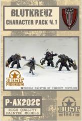 Blutkreuz Korps Characters Set - Cerberus Pattern