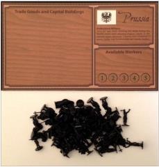 Player Board w/Prussian Figures
