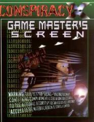 Gamemaster's Screen w/The Night of Rage (2nd Printing)