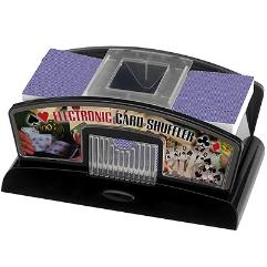 Electronic Card Shuffler