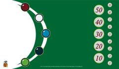 Tokens Playmat - Green w/White
