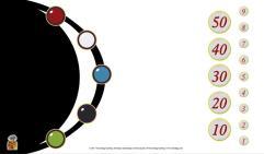 Tokens Playmat - White w/Black