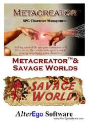 Metacreator w/Savage Worlds