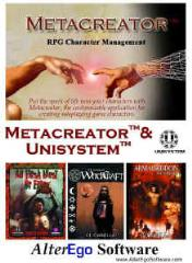 Metacreator w/Unisystem