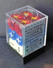 d6 Wizard Fudge Dice (12)