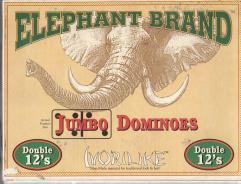 Jumbo Dominoes - Double 12's
