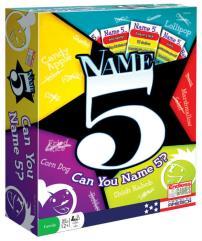 Name 5 (2016 Edition)
