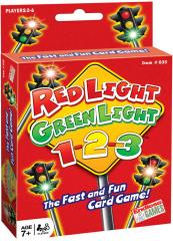 Red Light, Green Light, 1-2-3 Card Game
