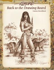 Back to the Drawing Board #1 - Fantasy Sketchbook
