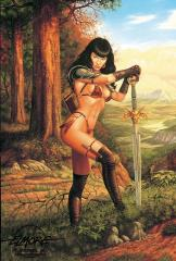 Bettie Page - Guarding the North Pass