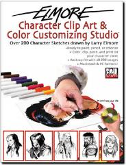 Character Clip Art & Color Customizing Studio
