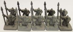 Dwarves w/Spears Collection #2
