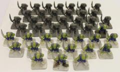 Orc Swordsmen Collection #1