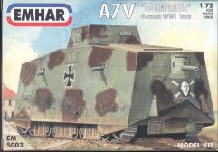 """A7V """"Sturmpanzer"""" German WWI Tank"""