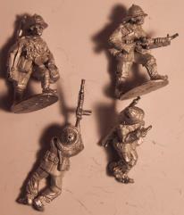 Italian Light Machine Gun Team w/Breda30 #1
