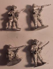 Italian Rifles Firing & Loading #1