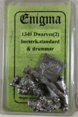 Dwarf Berserkers - Standard & Drummer