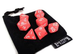 Coral Red Fossil w/White (7)