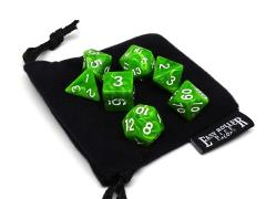 Green Fossil w/White (7)