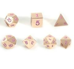 Rose Gold Metal w/Pink - Skull Case (7)
