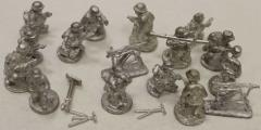 Italian Command w/Weapons #1