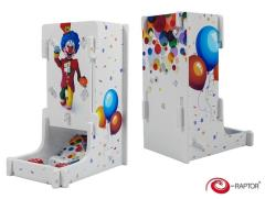 Cuboid Tower - Full Print, Funny Clown