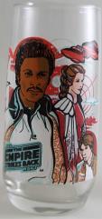 Empire Strikes Back Glass - Lando & Leia