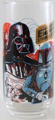 Empire Strikes Back Glass - Darth Vader & Boba Fett