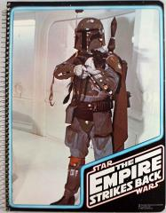 Empire Strikes Back Spiral Notebook - Boba Fett